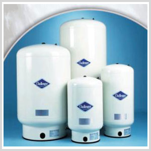 Challenger Water Well Pressure Tank by Flexcon