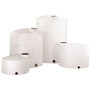 White Vertical Water Tank Storage Chemical Tanks