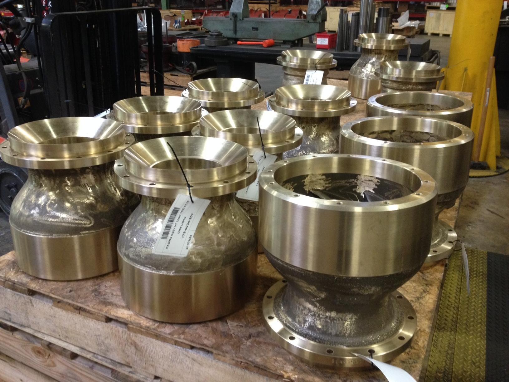 Pretty Cool! - Special Materials Construction C958 Bronze Turbine Pump Bowls