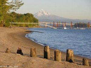 Mt. Hood on the Columbia River, Vancouver, Washington 98607