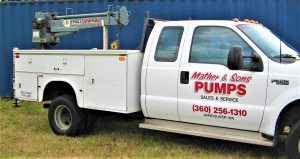 Water Conditioning Service Truck